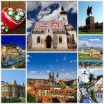 Passeio por Zagreb, capital da Croácia